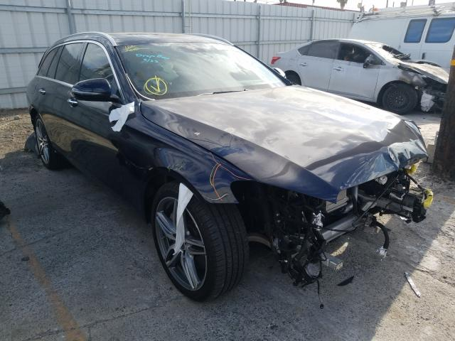 Salvage cars for sale from Copart Wilmington, CA: 2018 Mercedes-Benz E 400 4matic