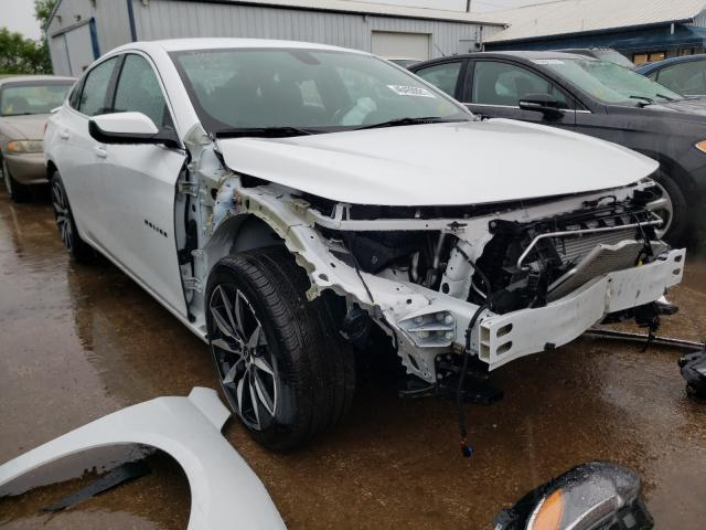 Salvage cars for sale from Copart Pekin, IL: 2020 Chevrolet Malibu RS