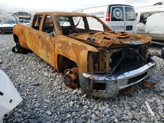Salvage cars for sale from Copart Cartersville, GA: 2017 Chevrolet Silverado