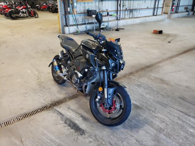 Salvage motorcycles for sale at Candia, NH auction: 2017 Yamaha FZ10