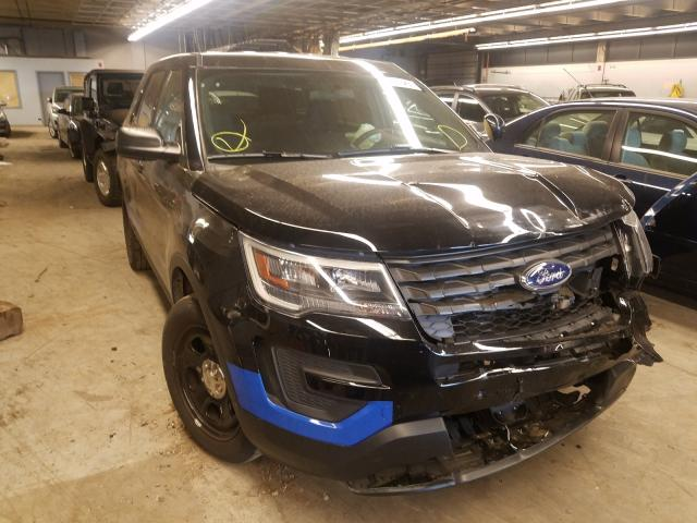 Salvage cars for sale from Copart Wheeling, IL: 2018 Ford Explorer P