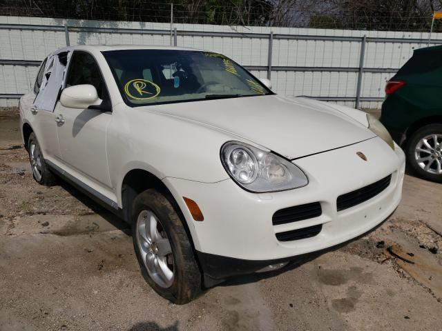 Porsche salvage cars for sale: 2004 Porsche Cayenne S
