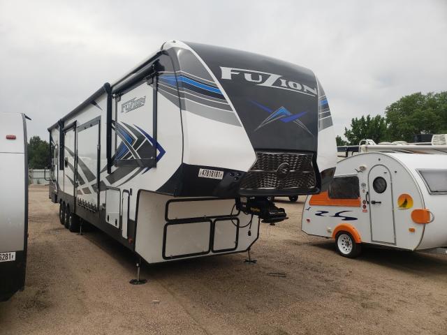 Keystone Fuzion salvage cars for sale: 2021 Keystone Fuzion
