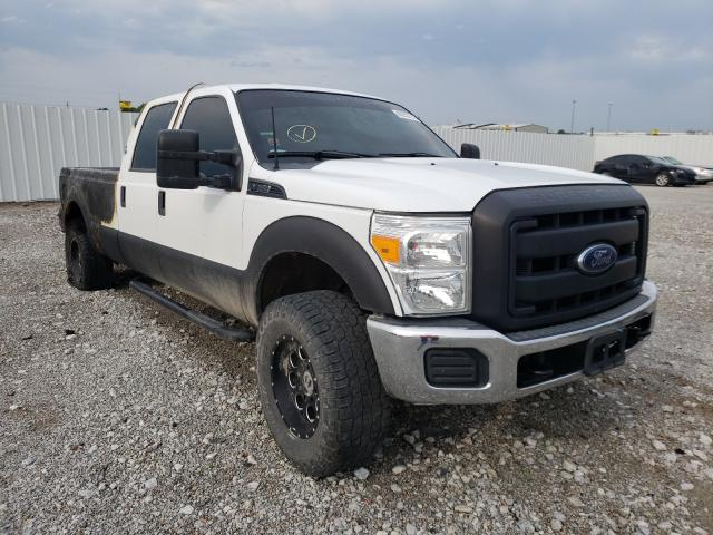 Salvage cars for sale from Copart Greenwood, NE: 2013 Ford F250 Super