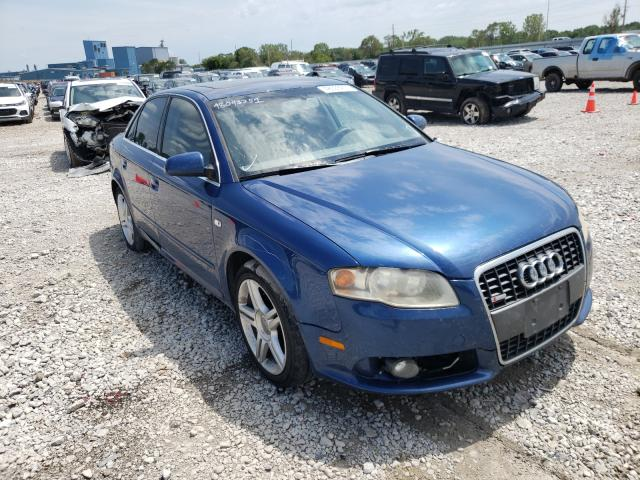 Salvage cars for sale from Copart Des Moines, IA: 2008 Audi A4 2.0T Quattro