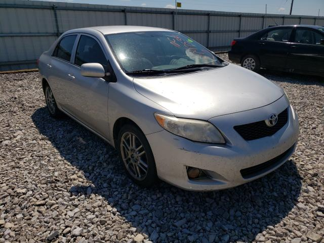 Salvage cars for sale from Copart Lawrenceburg, KY: 2009 Toyota Corolla BA