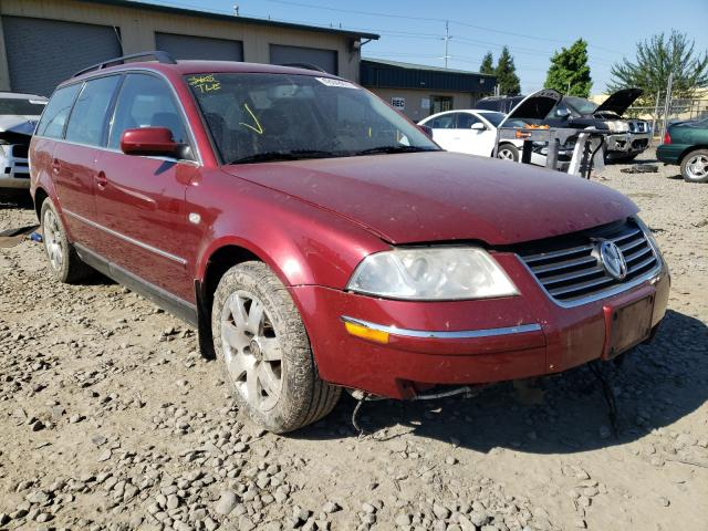 Salvage cars for sale from Copart Eugene, OR: 2003 Volkswagen Passat GLX