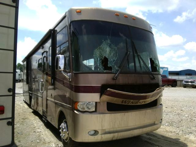 Workhorse Custom Chassis salvage cars for sale: 2005 Workhorse Custom Chassis Motorhome
