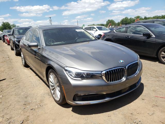BMW Vehiculos salvage en venta: 2017 BMW 740 XI