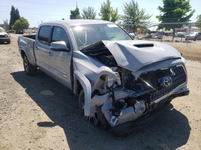 Salvage cars for sale from Copart Eugene, OR: 2019 Toyota Tacoma DOU