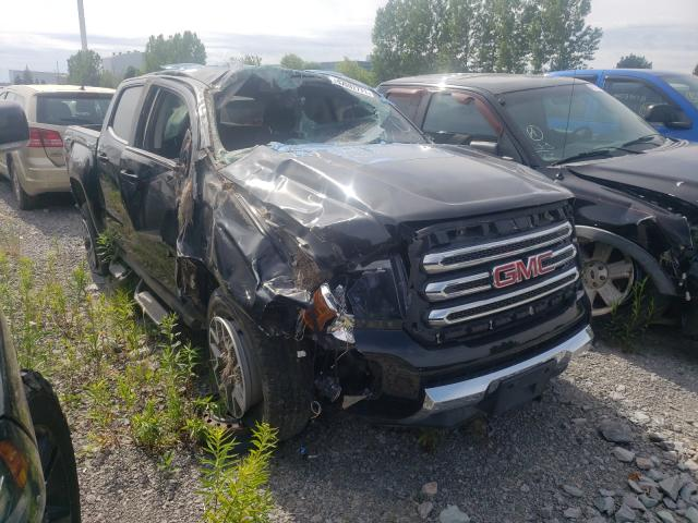 Salvage cars for sale from Copart Bowmanville, ON: 2016 GMC Canyon SLE