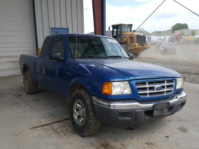 Salvage cars for sale from Copart Billings, MT: 2002 Ford Ranger SUP