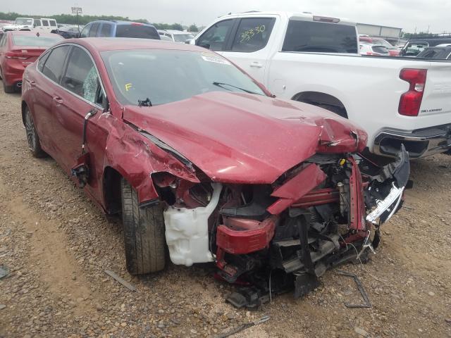 Vehiculos salvage en venta de Copart Mercedes, TX: 2017 Ford Fusion SE