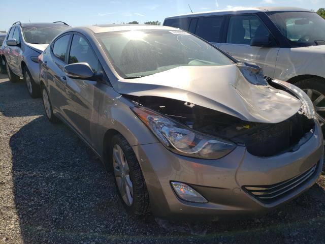 Vehiculos salvage en venta de Copart Louisville, KY: 2012 Hyundai Elantra GL