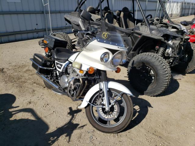 Salvage cars for sale from Copart Bakersfield, CA: 2002 Kawasaki KZ1000 P
