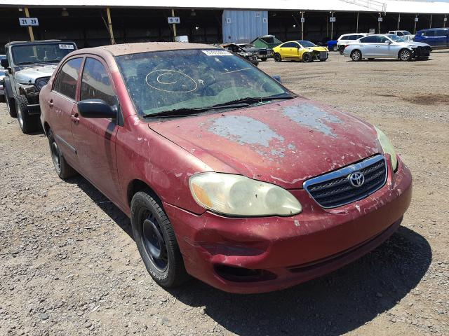 Salvage cars for sale from Copart Phoenix, AZ: 2005 Toyota Corolla CE