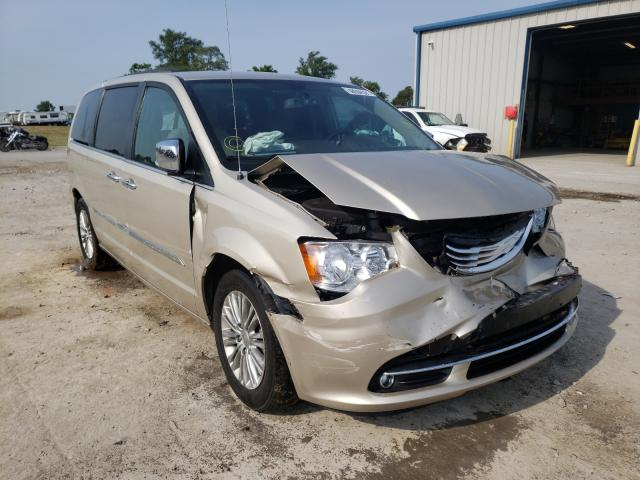 Salvage cars for sale from Copart Sikeston, MO: 2015 Chrysler Town & Country