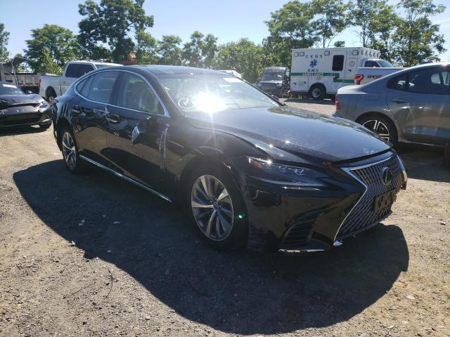 Salvage cars for sale from Copart Marlboro, NY: 2019 Lexus LS 500 Base
