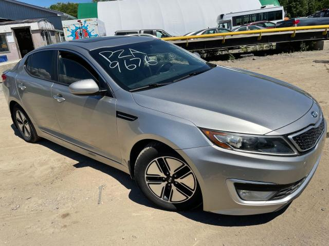 Salvage cars for sale from Copart Ontario Auction, ON: 2012 KIA Optima Hybrid