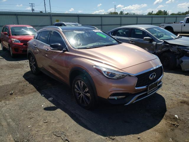 Salvage cars for sale from Copart Pennsburg, PA: 2017 Infiniti QX30 Base