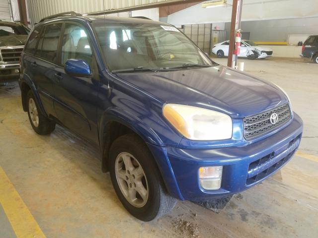 Toyota Rav4 salvage cars for sale: 2002 Toyota Rav4