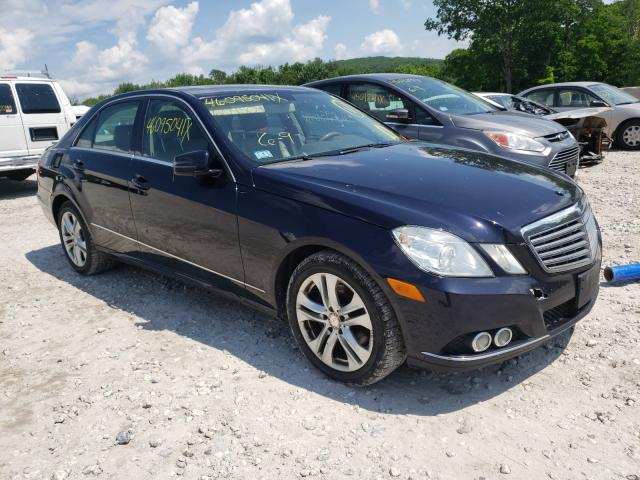 Salvage cars for sale from Copart West Warren, MA: 2011 Mercedes-Benz E 350 4matic