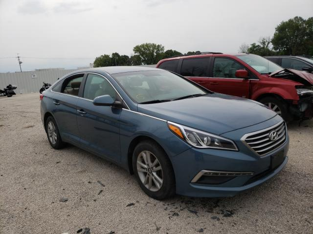 Salvage cars for sale from Copart Milwaukee, WI: 2015 Hyundai Sonata SE