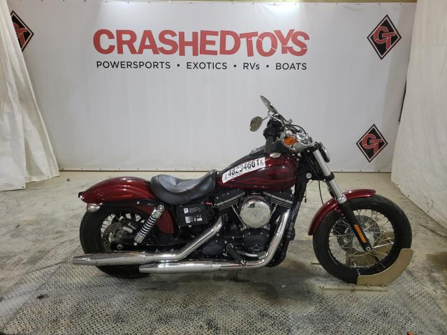 Salvage cars for sale from Copart Columbia, MO: 2017 Harley-Davidson Fxdb Dyna