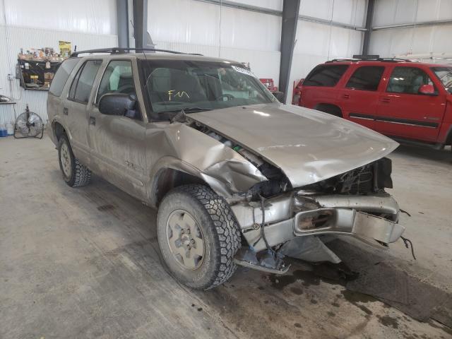 Chevrolet Blazer salvage cars for sale: 2003 Chevrolet Blazer