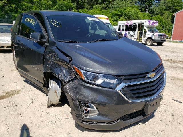 Salvage cars for sale from Copart Mendon, MA: 2018 Chevrolet Equinox LS