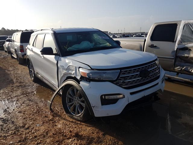 Salvage cars for sale from Copart Houston, TX: 2021 Ford Explorer L
