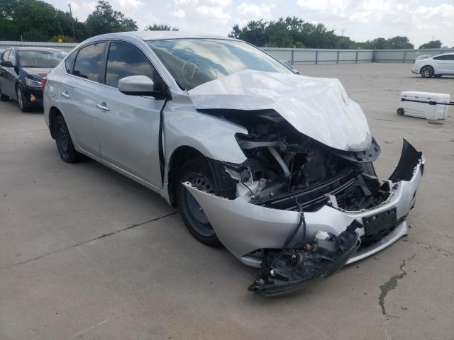 Vehiculos salvage en venta de Copart Wilmer, TX: 2018 Nissan Sentra S
