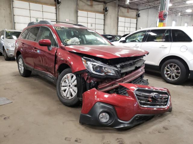 Salvage cars for sale from Copart Blaine, MN: 2019 Subaru Outback 2