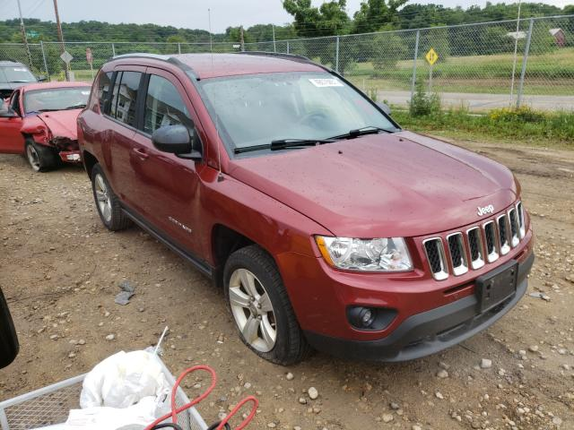 Salvage cars for sale from Copart Madison, WI: 2012 Jeep Compass SP
