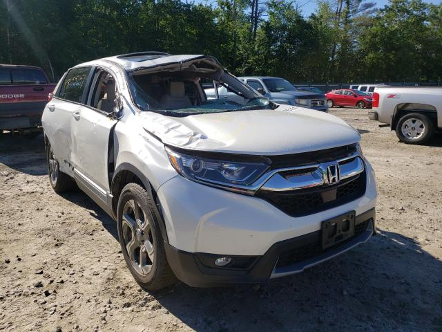 Salvage cars for sale from Copart Candia, NH: 2018 Honda CR-V EX