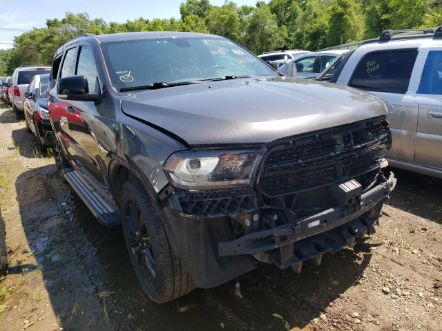 Salvage cars for sale from Copart Pekin, IL: 2017 Dodge Durango GT