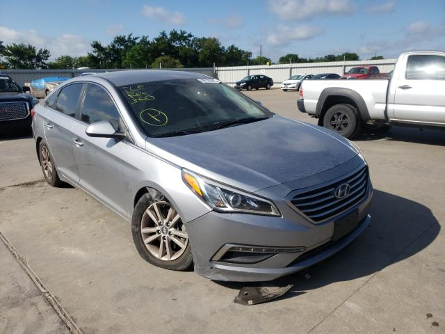 Salvage cars for sale from Copart Wilmer, TX: 2015 Hyundai Sonata SE