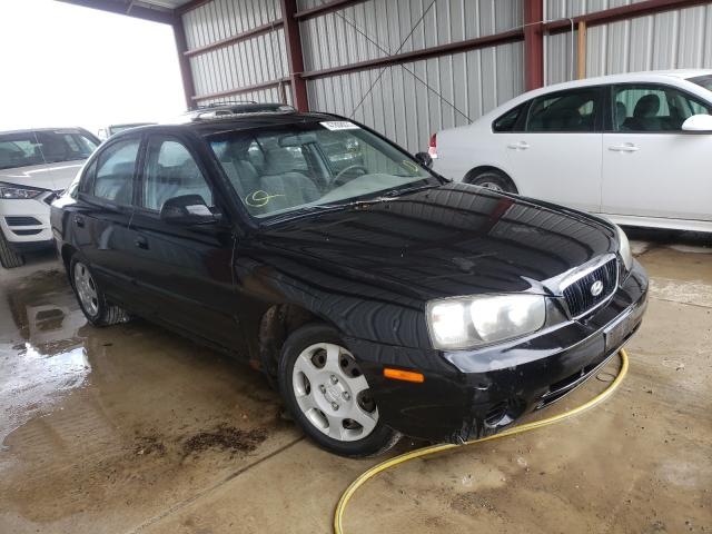 Salvage cars for sale from Copart Helena, MT: 2003 Hyundai Elantra GL