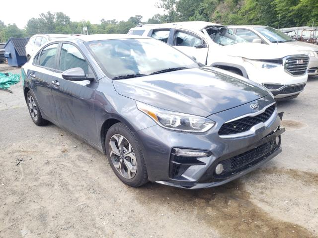 Salvage cars for sale from Copart Shreveport, LA: 2021 KIA Forte FE