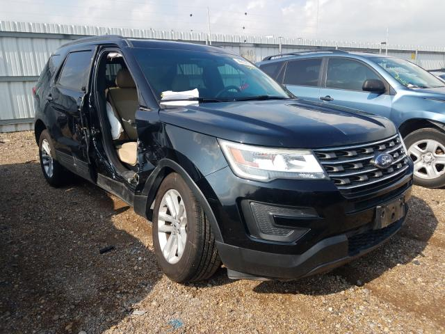 Salvage cars for sale at Mercedes, TX auction: 2016 Ford Explorer