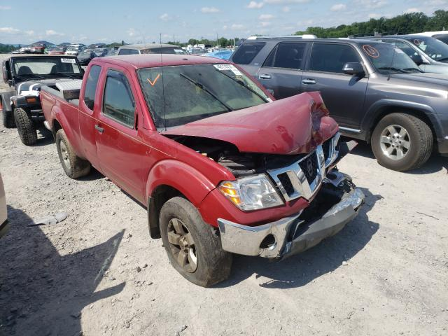 Salvage cars for sale from Copart Madisonville, TN: 2010 Nissan Frontier K