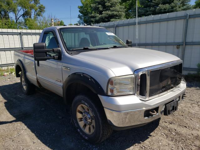 Salvage cars for sale from Copart Albany, NY: 2005 Ford F350 SRW S