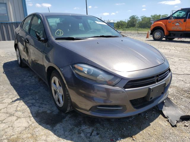 Salvage cars for sale from Copart Chambersburg, PA: 2016 Dodge Dart SXT