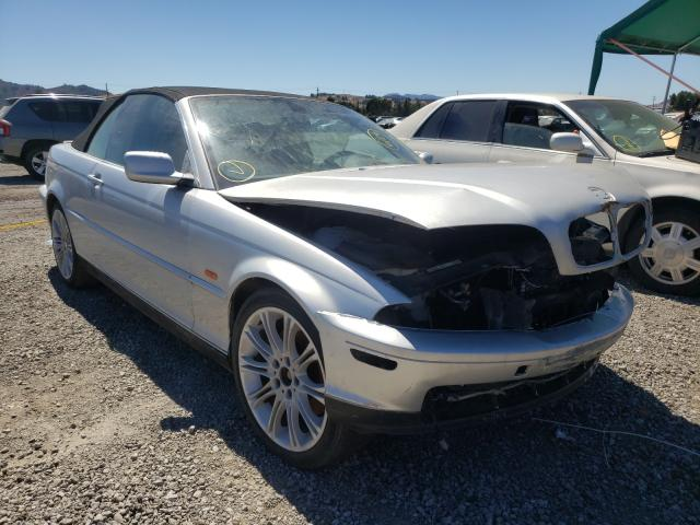 Salvage cars for sale from Copart San Martin, CA: 2001 BMW 330 CI