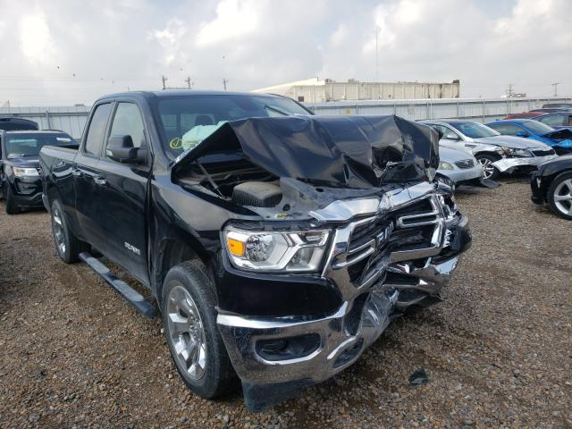 Salvage cars for sale from Copart Mercedes, TX: 2019 Dodge RAM 1500 BIG H