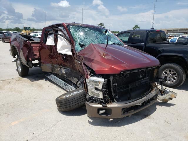 Salvage 2016 FORD F-150 - Small image. Lot 48075631