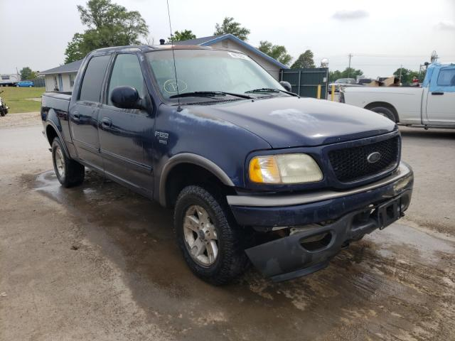 Salvage cars for sale from Copart Sikeston, MO: 2002 Ford F150 Super