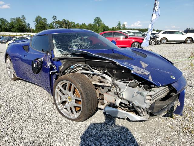 Salvage cars for sale from Copart Spartanburg, SC: 2011 Lotus Evora