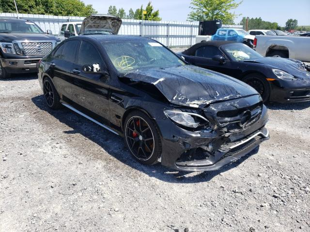 Salvage cars for sale from Copart Ontario Auction, ON: 2016 Mercedes-Benz C 63 AMG-S