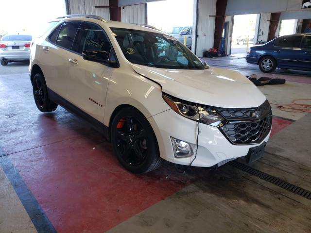 Salvage cars for sale from Copart Angola, NY: 2020 Chevrolet Equinox PR